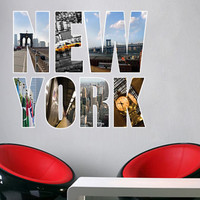 Modern , Urban and Contemporary - New York - Wall Decals , Home WallArt Decals