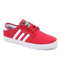 Adidas Seeley Canvas Shoes - Mens Shoes - Red