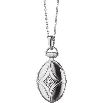Petite Bridle Locket Necklace - Monica Rich Kosann