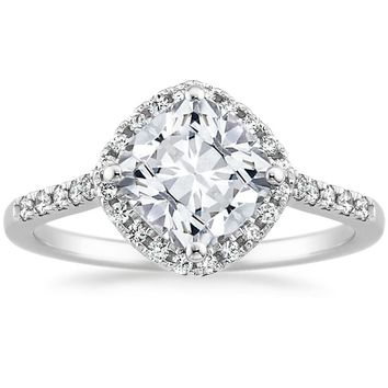 18K White Gold Cometa Diamond Ring (1/4 ct. tw.)