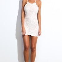Bedroom Whispers Dress Ivory
