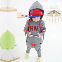 Boys Clothing Sets Children's Suits Autumn And Winter Long-Sleeved Sport Suit Baby Clothes Kids Wear