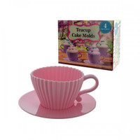 4 Pack Teacup Cake Molds