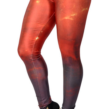 Galaxy Lava Leggings Design 415