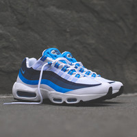 Nike Air Max 95 No-Sew - White / University Blue / New Slate