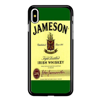 Jameson Wine Irish Whiskey iPhone X Case