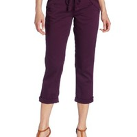 Democracy Women's Crop Rope Tie Detail Pant