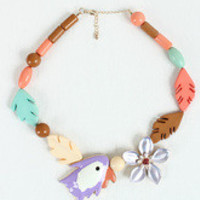 Wild Parrot Necklace