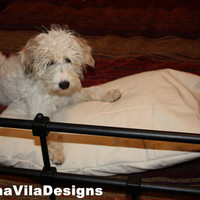 Small Dog Bed Cover for your #puppy, Oh so cute and adorable.  Puppy not included. #dog