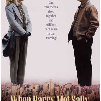 When Harry Met Sally Movie Poster 11x17