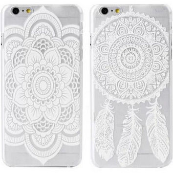Cute Hollow Out iPhone 6 6s Plus Case Cover Gift-162