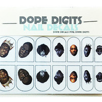 HIP HOP ROYALTY NAIL DECALS