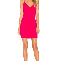 Amanda Uprichard Chandon Dress in Fuchsia | REVOLVE