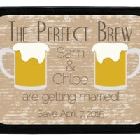 Perfect Drinks Personalized Engagement Mint Tins, Save the Date, Wedding Favors, Candy Favors
