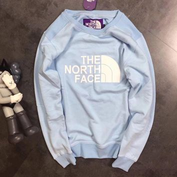 THE NORTH FACE Woman Men Fashion Round Neck Top Sweater Pullover-1