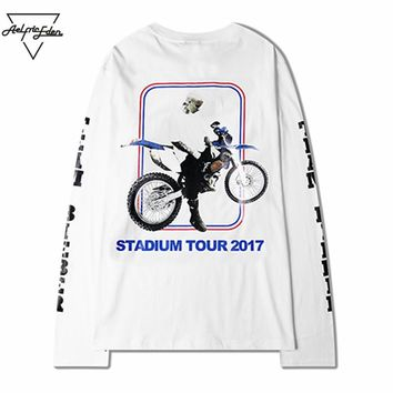 Aelfric Eden Casual Mens T Shirts Justin Bieber Purpose STADIUM TOUR 2017 Tee Shirt Homme Men Tshirts T-shirts SNL657