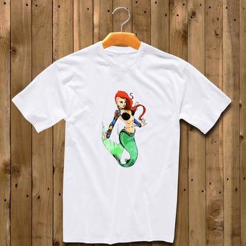 Disney Princess Ariel Tattoos Womens shirt for man and woman shirt / tshirt / custom shirt