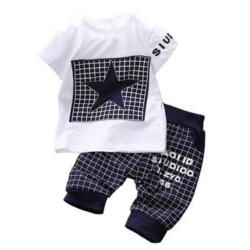 Star & Square Clothing Set