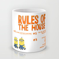 funny despicable me rules...gru Mug by studiomarshallarts