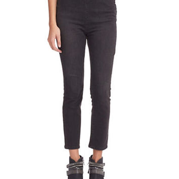 Free People High Rise Cropped Pants
