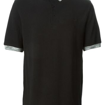 Fred Perry Laurel Wreath contrast grey collar polo shirt