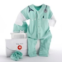 Baby Doctor Layette Newborn Gift Set | Cool Baby Stuff