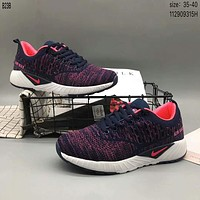 NIKE AIR MAX weave breathable trend sports shoes F-A36H-MY Purple