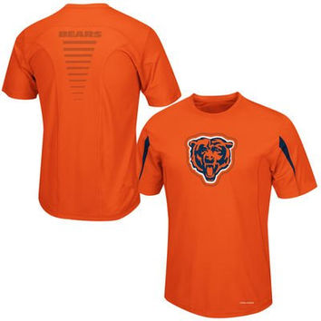 Chicago Bears Fanfare VII CoolBase Performance T Shirt Big and Tall Sizes