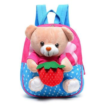2016 New Cartoon Kid School Backpack For Child School Bag For Kindergarten