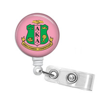 Alpha Kappa Alpha Sorority Name Badge Holder