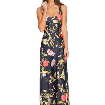 BRASS GARDEN MAXI DRESS - LIMITED