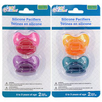 Bulk Angel of Mine Silicone Pacifiers, 2-ct. Packs at DollarTree.com
