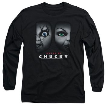 Bride Of Chucky - Happy Couple Long Sleeve Adult 18/1