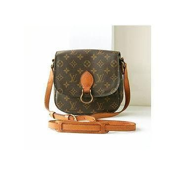 Tagre™ auth Louis Vuitton Monogram st.cloud shoulder bag vintage authentic rare purse w.germa
