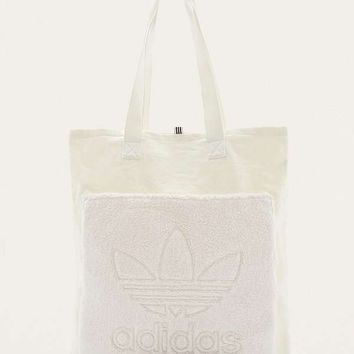 adidas Originals Trefoil Canvas Tote Bag | Urban Outfitters
