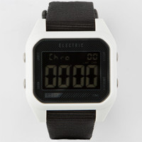 Electric Ed01 Nato Watch White/Black One Size For Men 25175216801