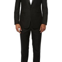 The Artemis Mens Geometric Slim Fit 2pc Tuxedo
