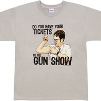 Product Reviews and Ratings - T-shirts - Gun-Show Office t-shirt from 80sTees.com