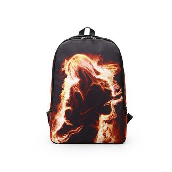 fire Backpack Boys Girls Schultaschen Despicable Me Prints Backpacks For Young People Kids Gift Backpacks Satchel