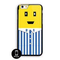 B1B2 Movie Cartoon Best Friend Bananas Yellow 1 iPhone 6 Case