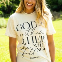 God is within her... Tee