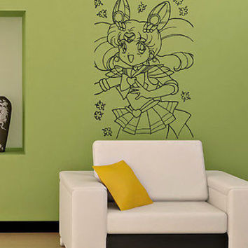 SAILOR MOON KIDS ROOM NURSERY WALL VINYL STICKER  DECALS ART MURAL M70