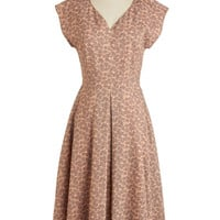 Mauve to the Country Dress | Mod Retro Vintage Dresses | ModCloth.com