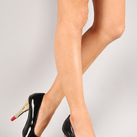 Lipstick Chic Patent Pointy Toe Pump