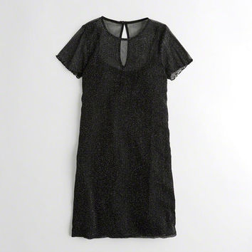 Girls Shine Mesh T-Shirt Dress | Girls New Arrivals | HollisterCo.com