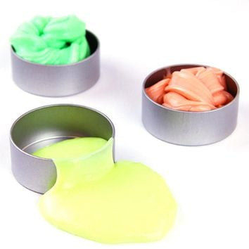 Slime putty UV discolor Plasticine toy 2017 New Fun Slime diy color clay toys for kids relieve stress Gags Practical Jokes