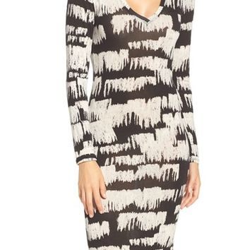 BCBGMAXAZRIA Jersey Body-Con Dress | Nordstrom