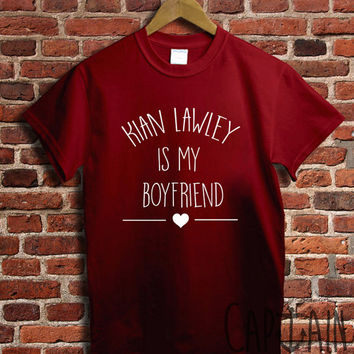 Kian lawley shirt kian lawley is my boyfriend unisex tshirt