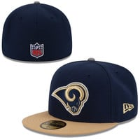 St. Louis Rams New Era 2014 Thanksgiving On-Field 59FIFTY Fitted Hat – Navy Blue