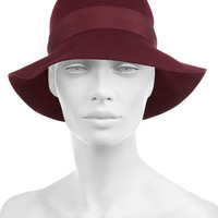 Stella McCartney | Wool-felt cloche hat | NET-A-PORTER.COM